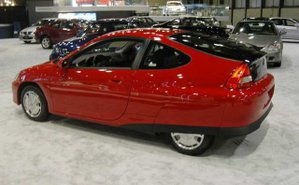 Honda Insight, a hybrid gas-electric vehicle
