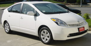 2004 Toyota Prius, a hybrid gas-electric vehicle